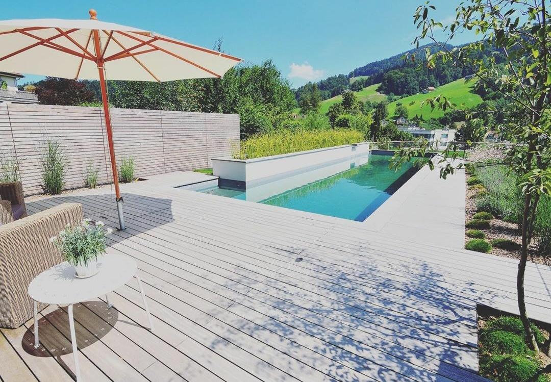 Création terrasse piscine à Lyon Pollionnay 69